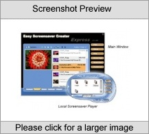 Easy Screensaver Creator-Express Screenshot
